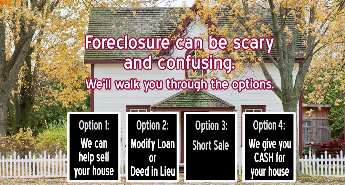 Foreclosure can be scary and confusing.